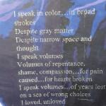 Poem/Biblical Script 2